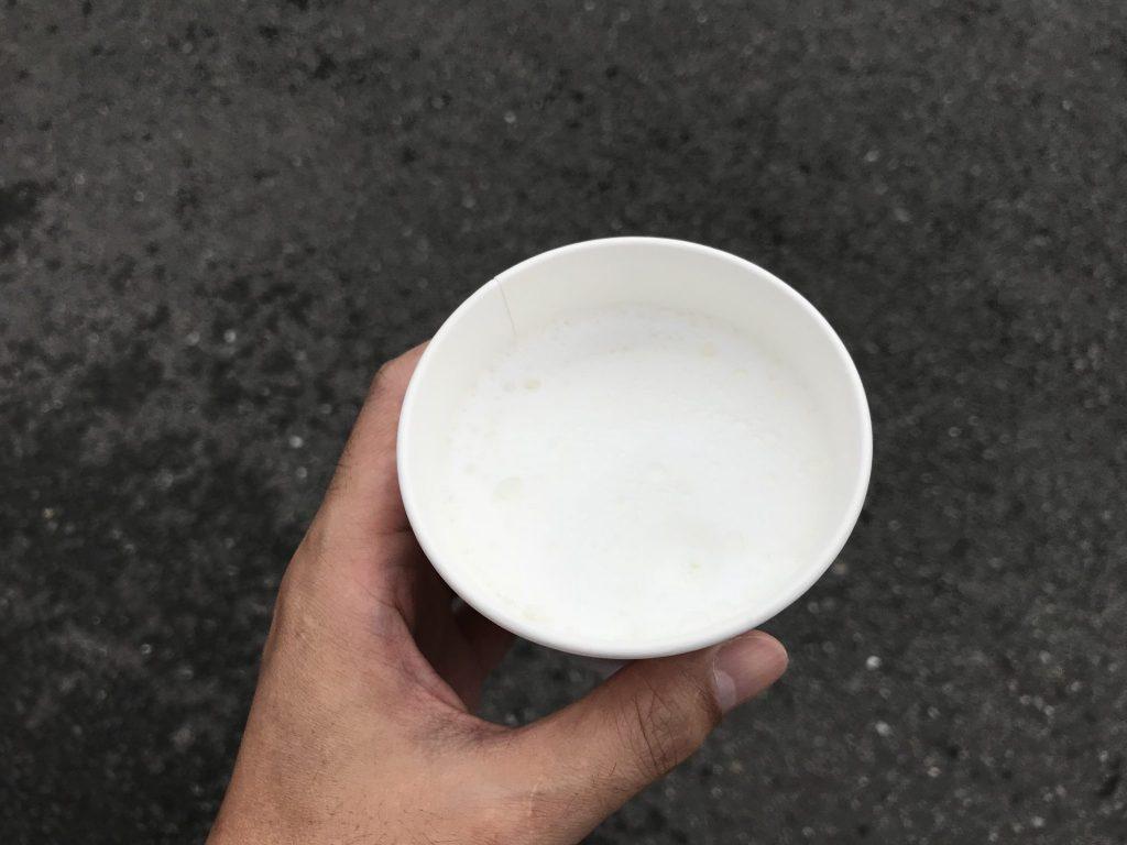 ローソン ホットミルク