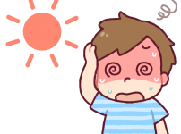 子供の熱中症の症状は発熱や頭痛に注意!突然の嘔吐や下痢や寒気の対処法もチェック!